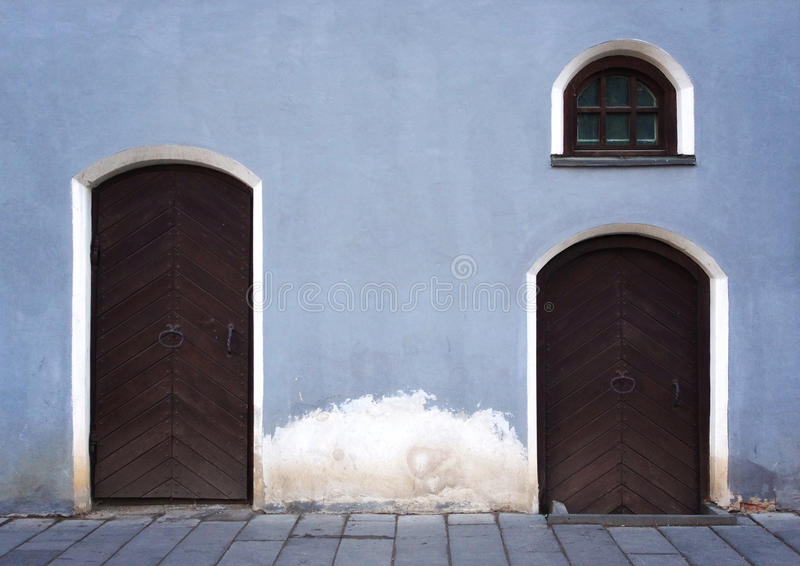 Download Old town building fragment stock image. Image of window - 31183049