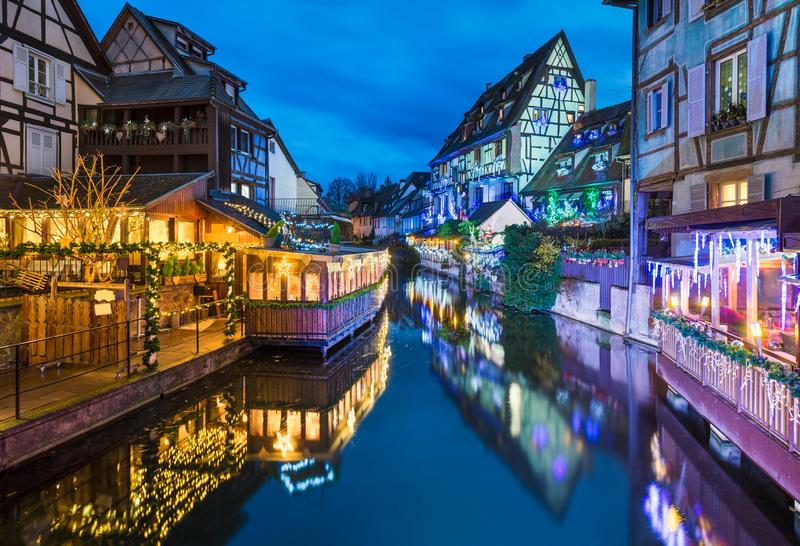 Old town of Colmar, Alsace, France royalty free stock photo