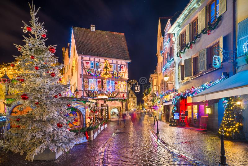 Old town of Colmar, Alsace, France royalty free stock photos