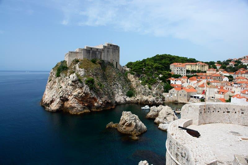 Old Town, Dubrovnik, Croatia stock image