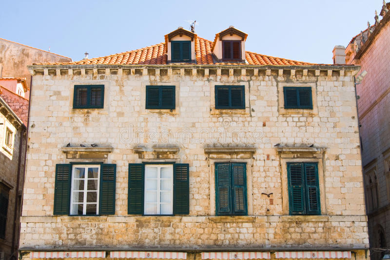 Old Town, Dubrovnik, Croatia. Old Town in Dubrovnik, Croatia stock images