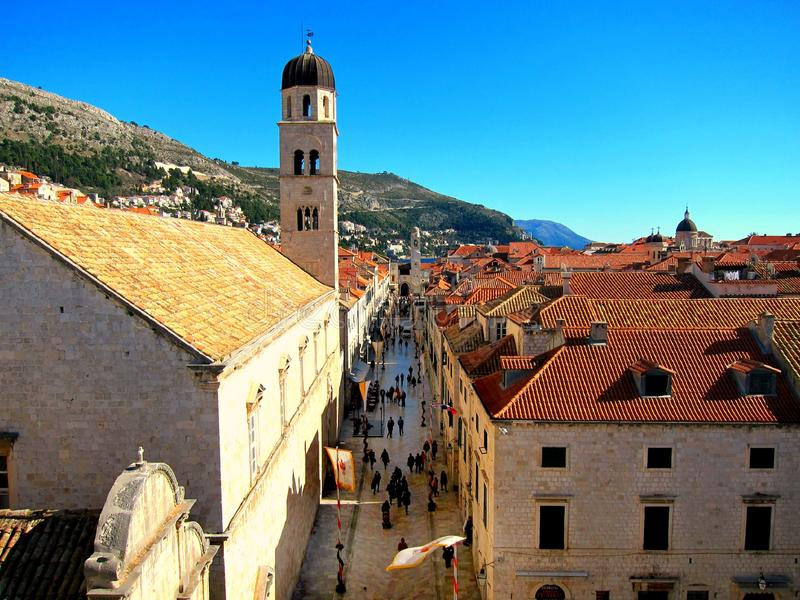 Old Town in Dubrovnik royalty free stock photos