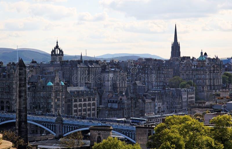 Old Town. Edinburgh. Scotland. UK. Royalty Free Stock Images
