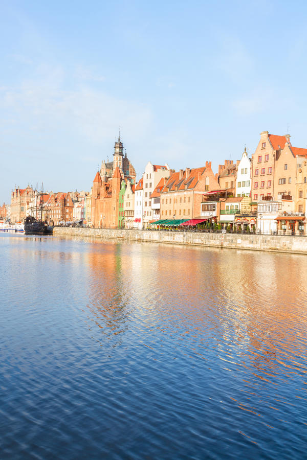 Download Old Town Embankment, Gdansk Stock Photo - Image: 40191944