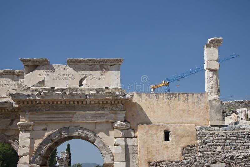 Old Town Of Ephesus. Turkey Royalty Free Stock Image