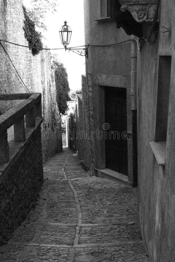 Free Old Town Eriche In Sicily Stock Image - 3181791