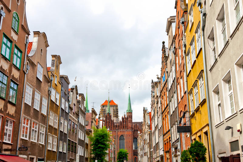 Download Old town in Gdansk stock image. Image of sailing, town - 15861911