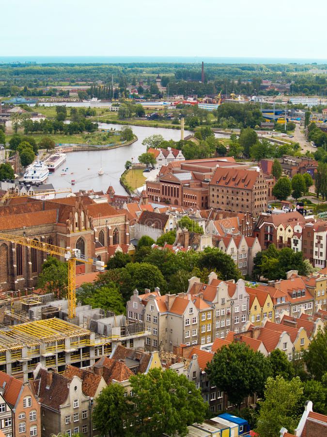 Download Old town, Gdansk stock image. Image of gansa, motlawa - 20144225