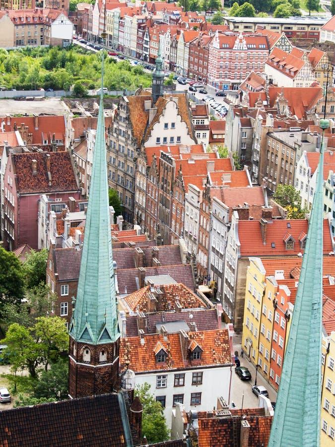 Download Old town, Gdansk stock photo. Image of european, riverside - 21272662