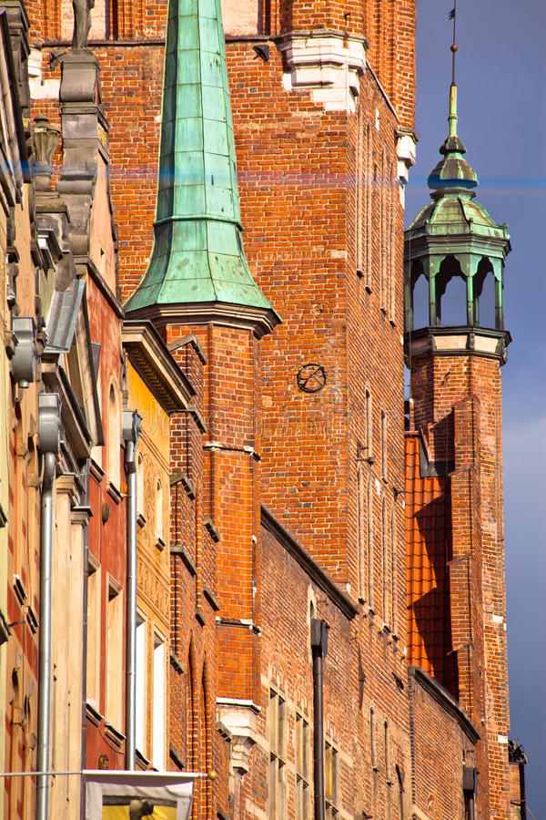 Old Town In Gdansk Poland Stock Photo