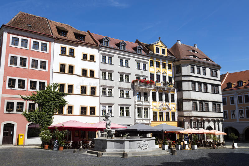 Old town Goerlitz in Germany, Europe stock photo