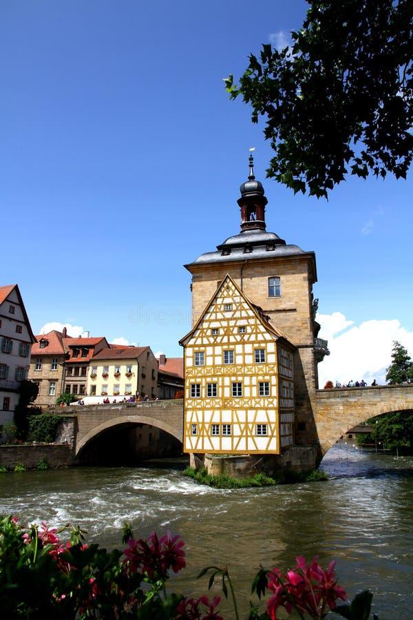 Download Old Town Hall Bamberg stock image. Image of backstreet - 25749625