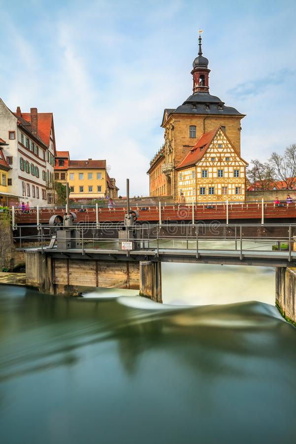 Old Town Hall- Bamberg- Germany royalty free stock image