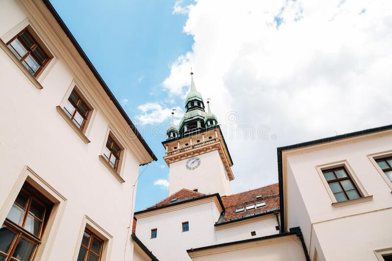 Old Town Hall in Brno, Czech Republic. Europe royalty free stock image