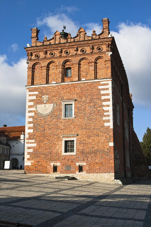 Free Old Town Hall In Sandomierz Stock Photography - 27980752
