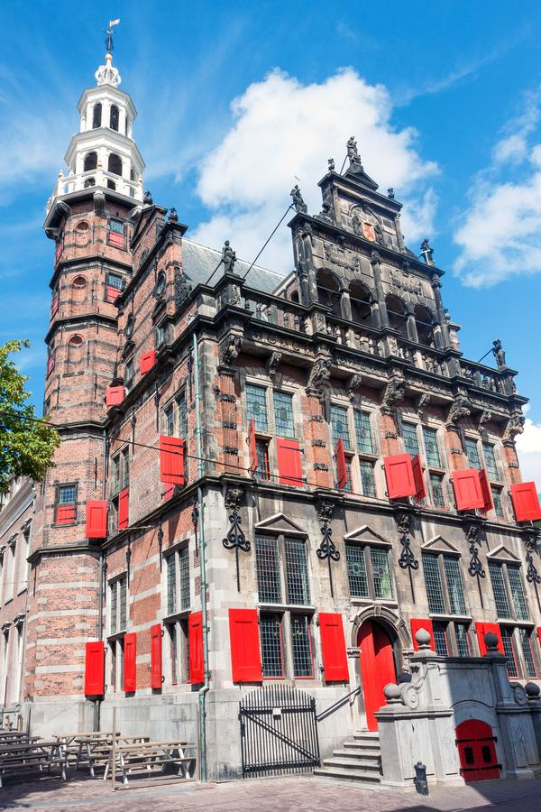 The old town hall Oude Stadhuis in The Hague. The old 16th century town hall Oude Stadhuis in The Hague, Netherlands stock image
