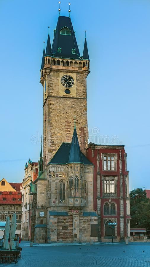 Old Town Hall in Prague royalty free stock photography