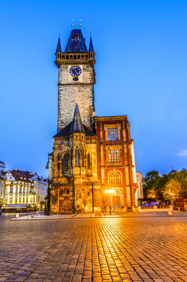 Old Town Hall, Stare Mesto,Prague stock photography