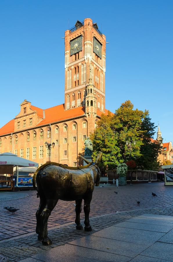 Download Old Town Hall In Torun, Poland. Editorial Photo - Image of antique, brick: 53334186