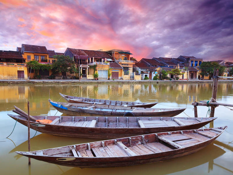 Old town of Hoi An royalty free stock photo