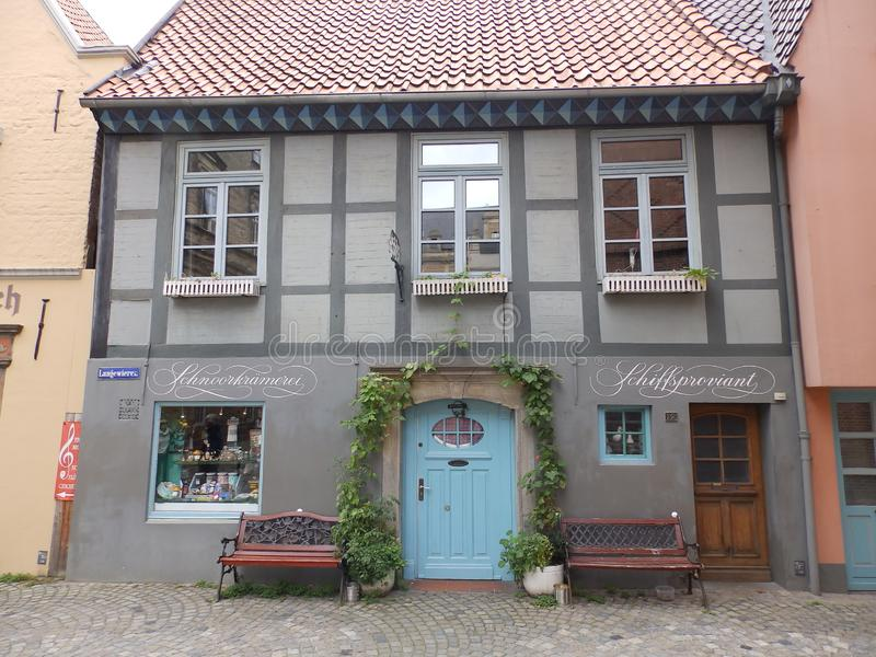 Old Town House in Germany. Old town house in Bremen, in Germany stock images