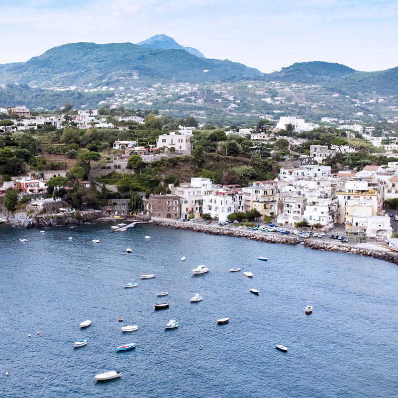 Download Old Town Of Ischia Ponte Stock Images - Image: 26466524