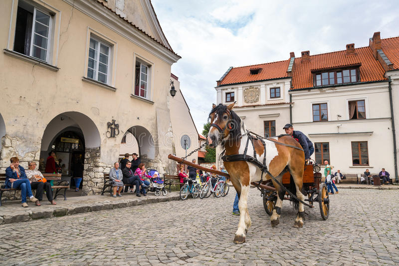 Old Town Of Kazimierz Dolny In Poland Editorial Image
