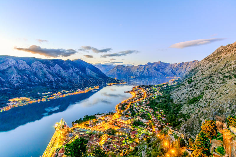 The old town of Kotor royalty free stock photos