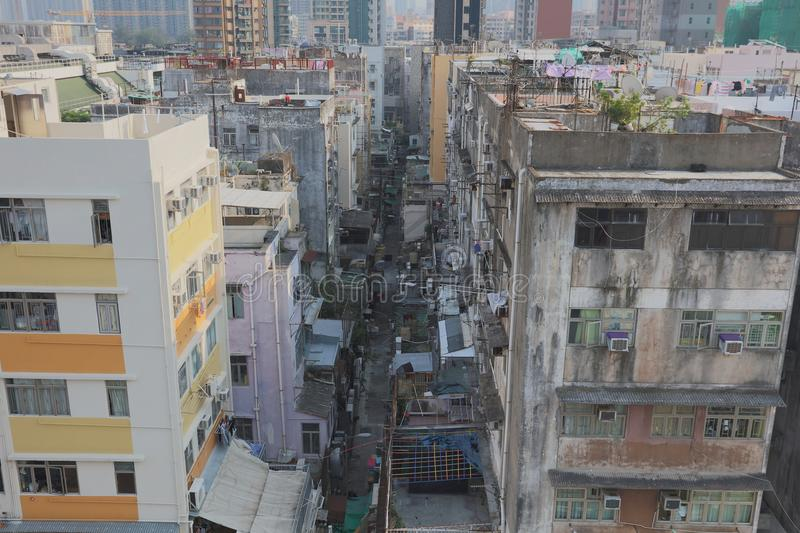 Old town of kowloon city hong kong. The old town of kowloon city hong kong stock images