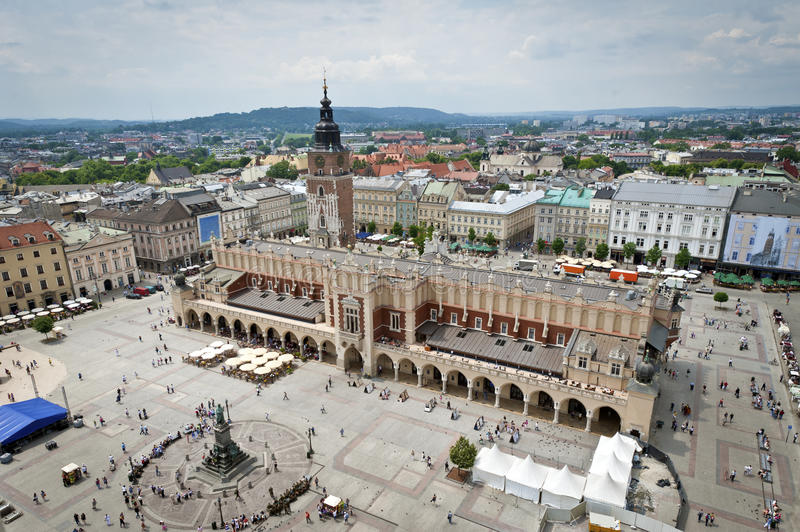 Old town in Krakow, Poland royalty free stock photography