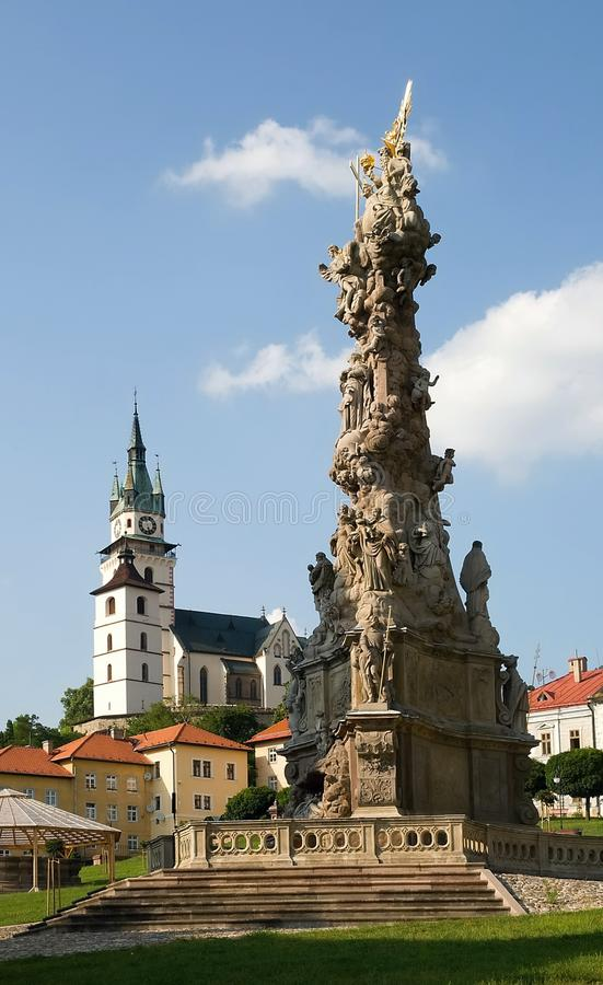 Old town Kremnica, Slovakia royalty free stock photos