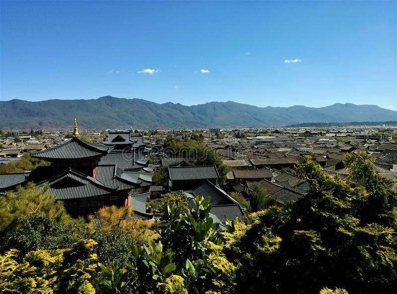 Old Town of Lijiang stock images