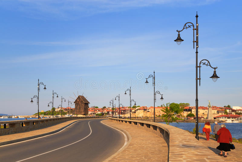 The old town of Nesebar, Bulgaria stock photography
