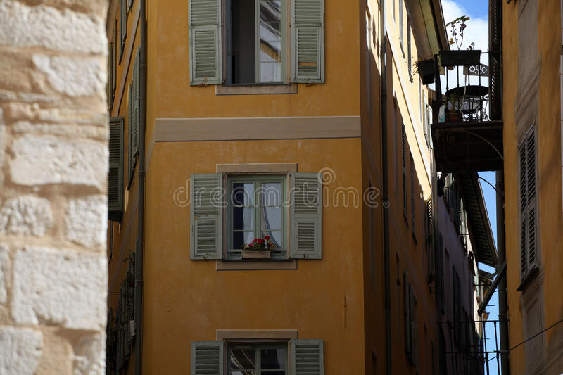 Old town Nice. royalty free stock photo