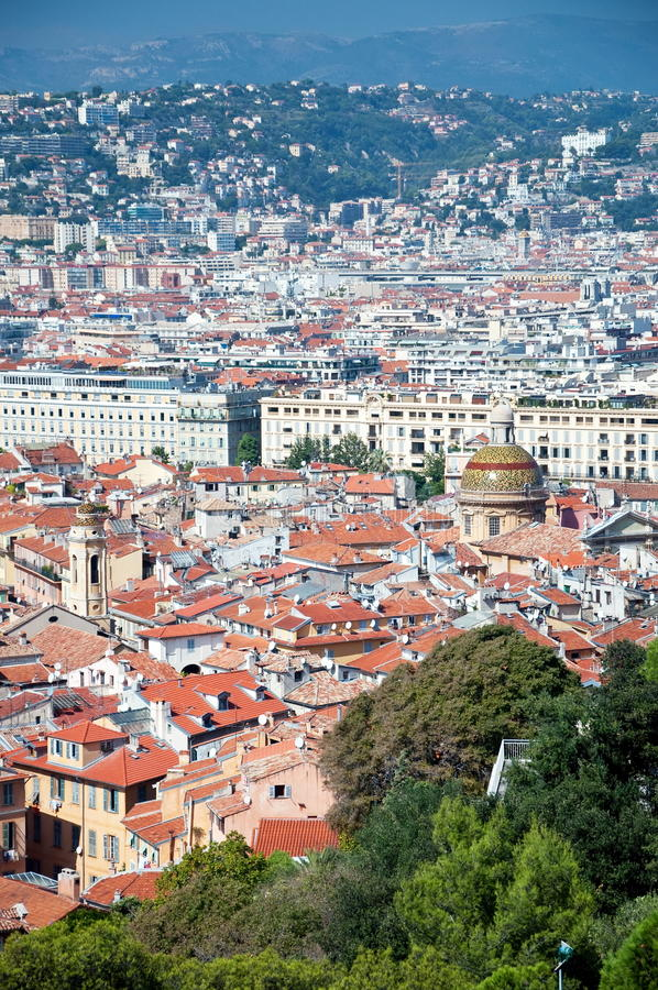 old town of nice france stock photo image of houses 12669020. Black Bedroom Furniture Sets. Home Design Ideas