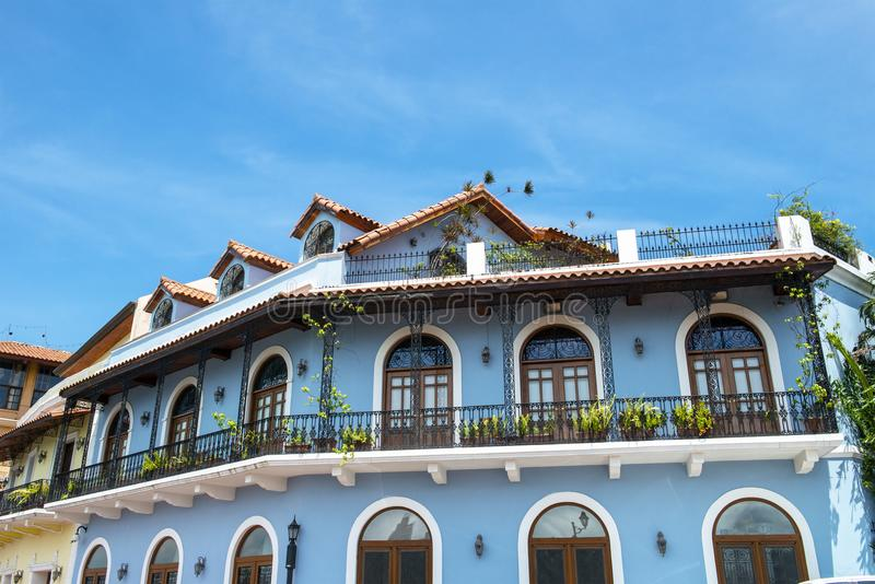 Old Town, Panama City, Travel royalty free stock photo
