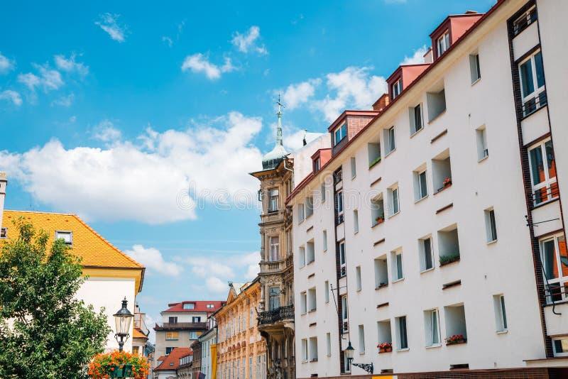 Old town Panska street in Bratislava, Slovakia. Europe stock photo