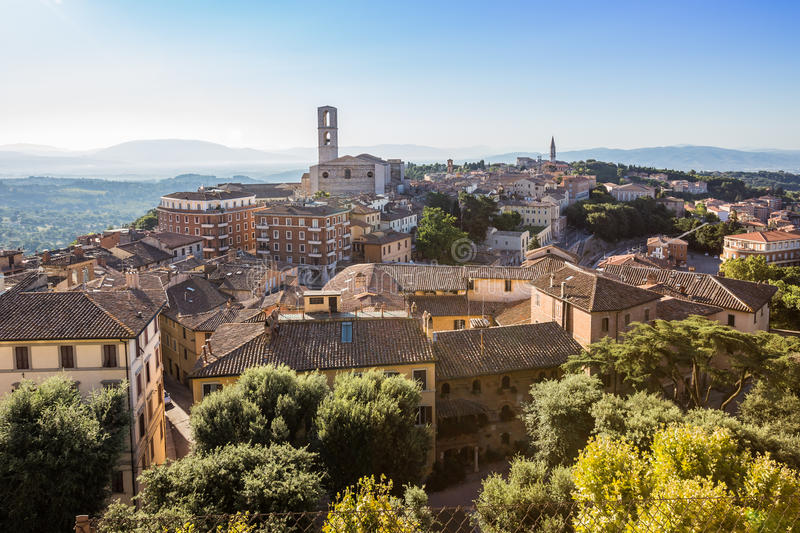 Old town of Perugia, Umbria, Italy royalty free stock photography