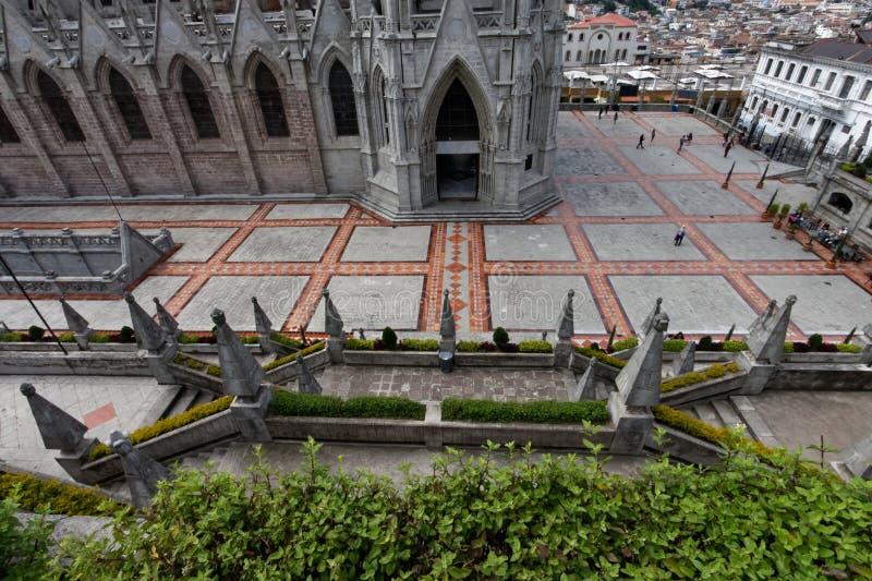 ecuador historic cathedral stock photo  image of christian