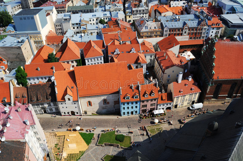 Old Town Of Riga Stock Images