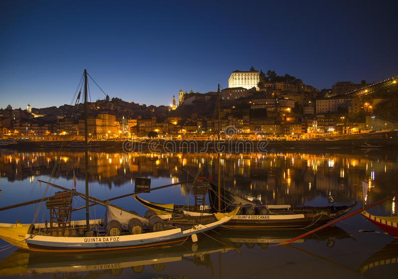 Old town river area of porto portugal royalty free stock photos