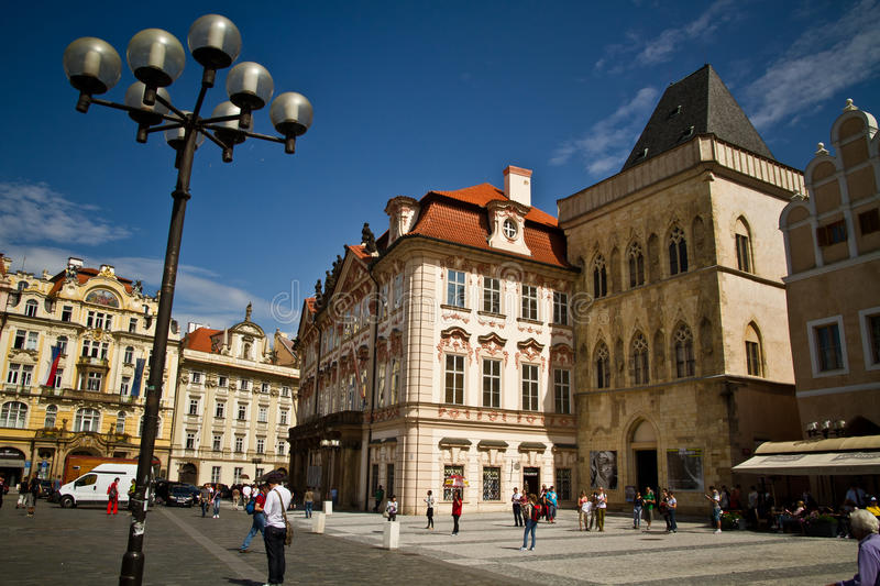 Download Old Town Square editorial stock image. Image of hotel - 21272499