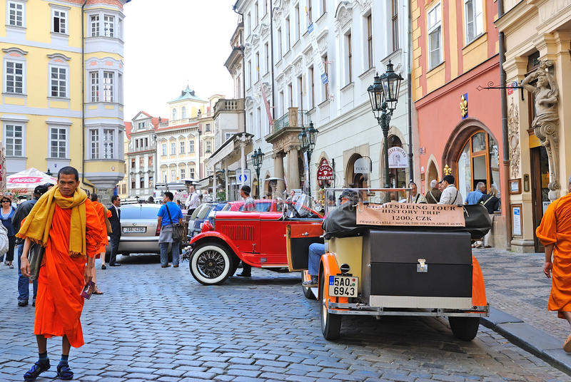 Download Old Town Square In Prague Editorial Image - Image: 22543135