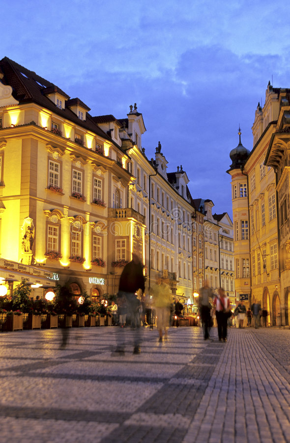 Download Old Town Square- Prague, Czech Republic Stock Photo - Image: 1724682