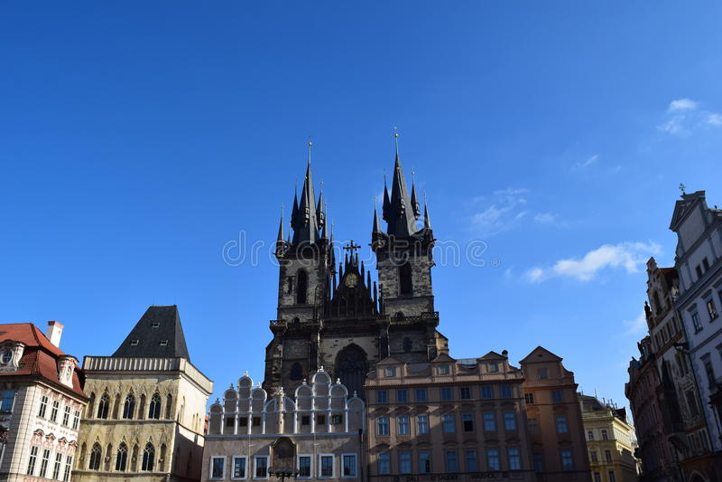 Old Town Square, Prague royalty free stock image