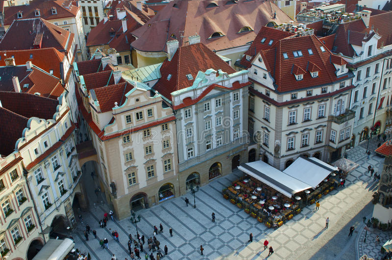 Download Old Town Square (Stare Mesto), Prague Stock Photo - Image: 19175530