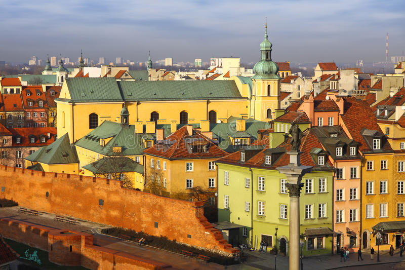 Download Old Town Square In Warsaw, Poland Stock Images - Image: 23315504