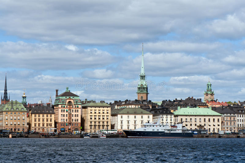 Download Old Town in Stockholm stock photo. Image of nobody, city - 25145146