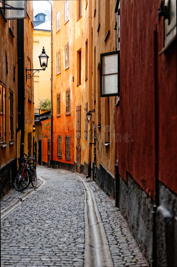Old Town Of Stockholm Stock Images