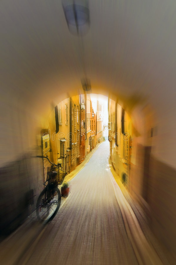Old Town Stockholm, Sweden stock photography